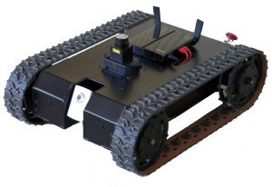 National Instruments SD5 CRio Labview Tracked Robot