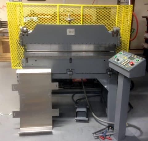 NEW Atek Bantam CNC Press Brake Capabilities