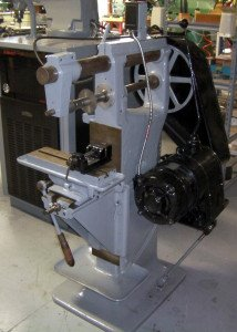 We have restored this old Horizontal Mill