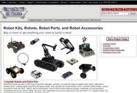 New look for SuperDroidRobots.com