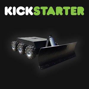 kickstarter robot snow plow