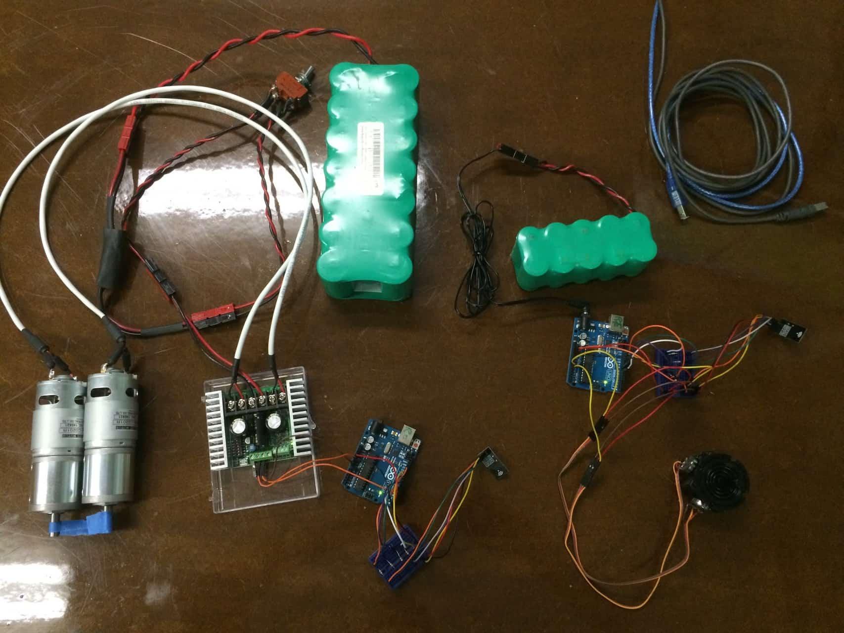 RF Joystick Motor Controller