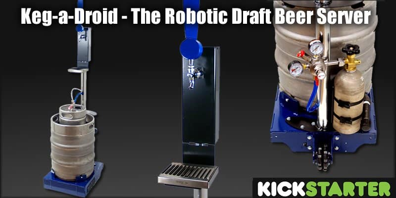 Keg-a-Droid Robot Beer Server