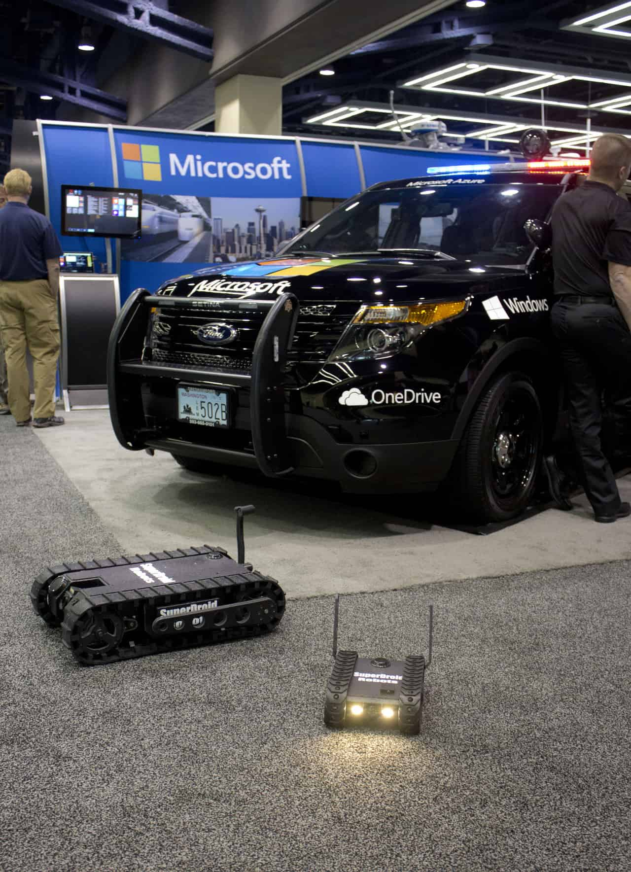 SuperDroid Robots Partners with Microsoft