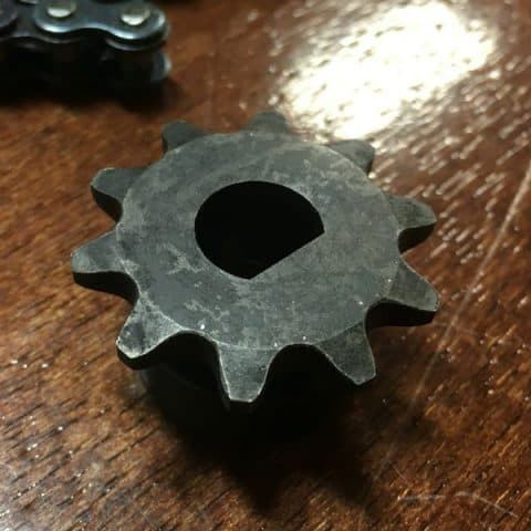 D-Shaft Sprocket Strength Test