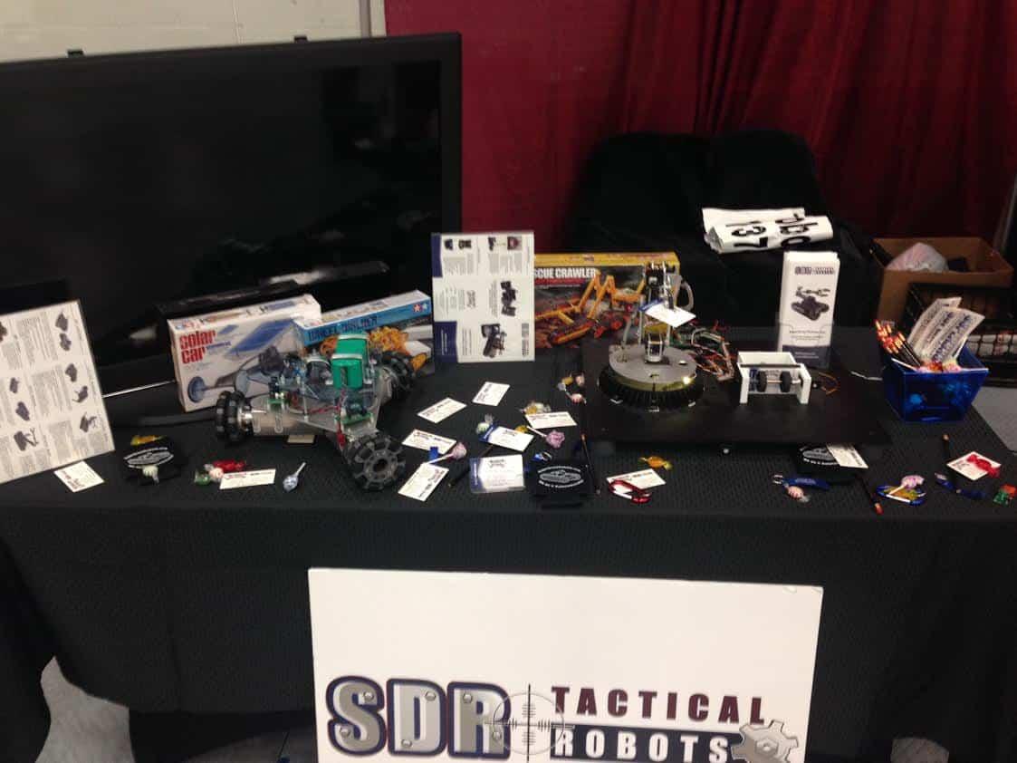 SuperDroid Robots attends kids' festival SpringSTE[A]M:uL8