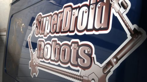 SuperDroid Mobile Support Vehicle