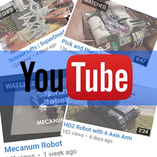 Robot Videos and the SDR YouTube Channel