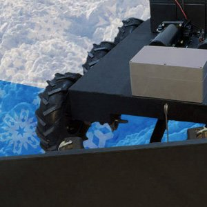 Remote Controlled Snow Plow Robot