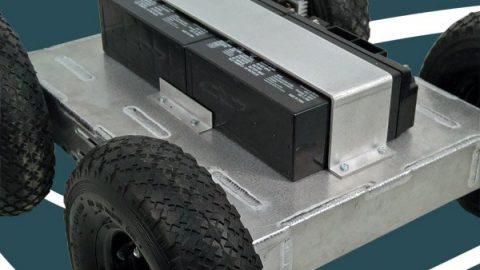 Heavy Duty 4WD All Terrain Mobile Robot Platform