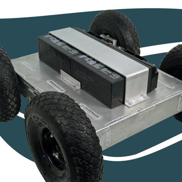 Heavy Duty 4WD All Terrain Mobile Robot Platform
