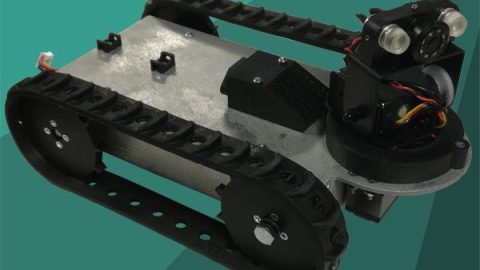 Redesigned Compact Inspection Robot
