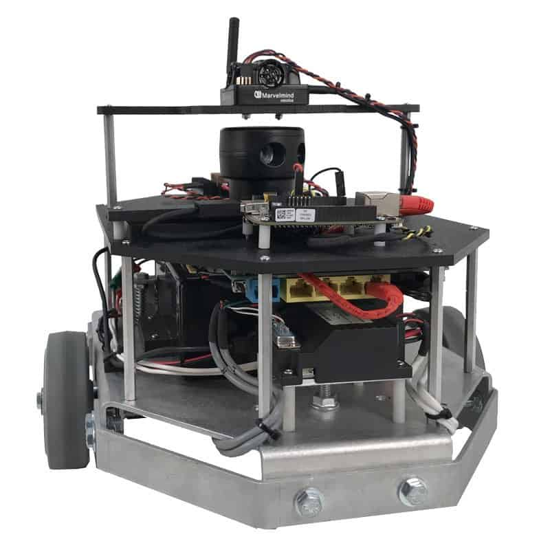 Programmable Autonomous Mini-IPS Robot