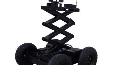 Coming soon: Surveillance robot with a scissor lift twist