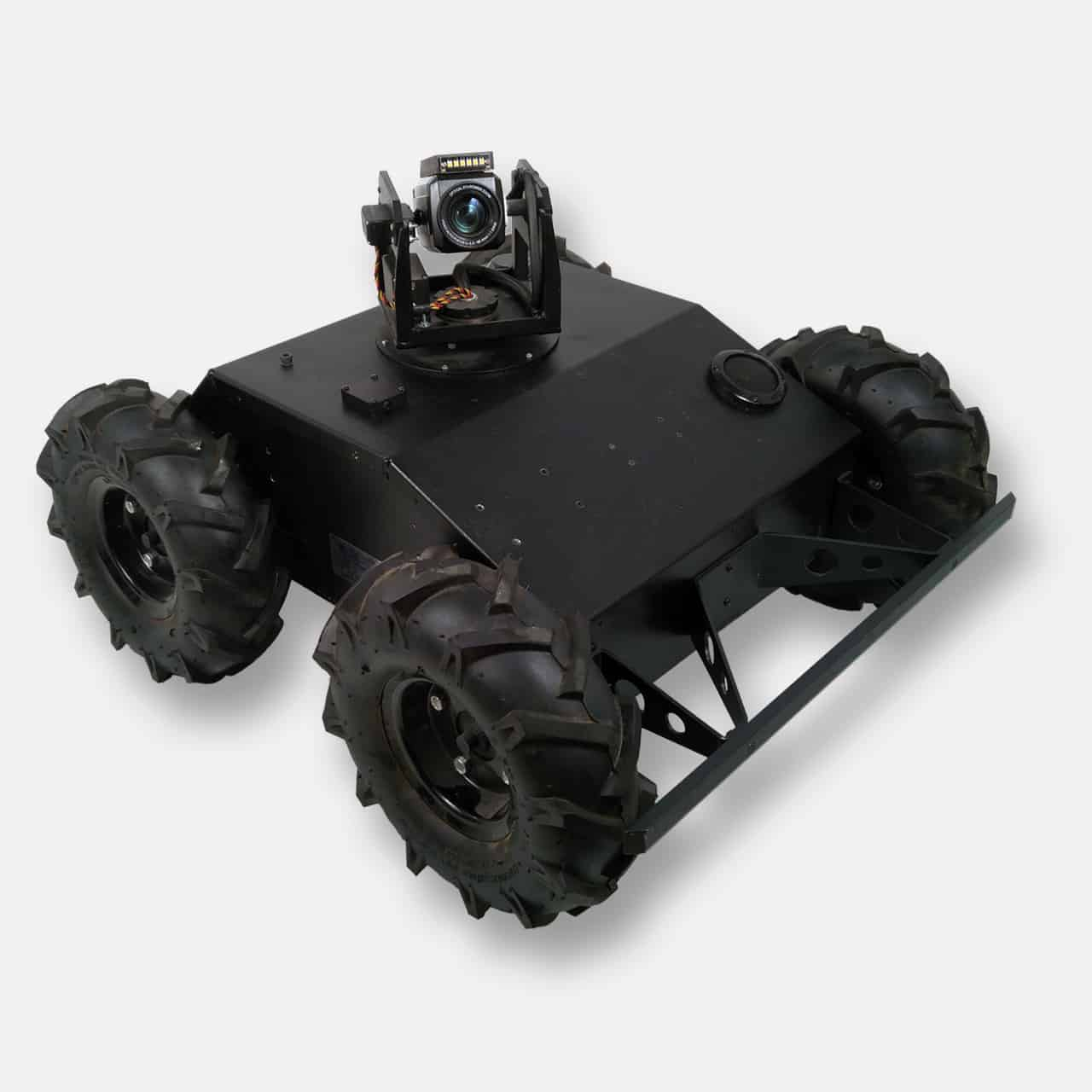4WD Tactical Robot with Tablet Controller