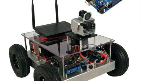 Our new Arduino Mega … or … Mega Arduino Robot