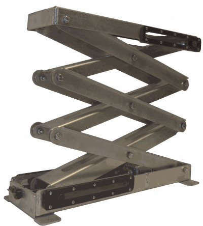 Electric scissor lifts and wheeled robots