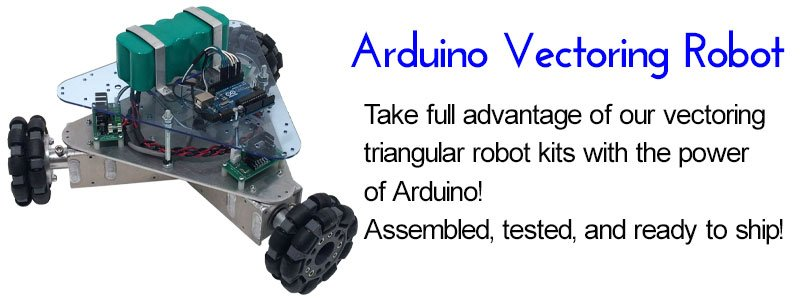 IG32 Arduino Vectoring SuperDroid Robots Programmable