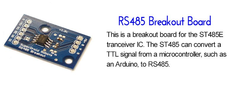 SuperDroid Robots RS485 Breakout Board