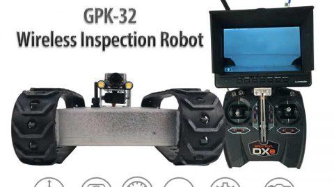 NEW GPK-32 Wireless Inspection Robot-Longer Range!