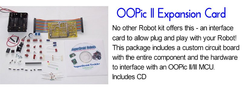 SuperDroid Robots OOPic II Expansion Card