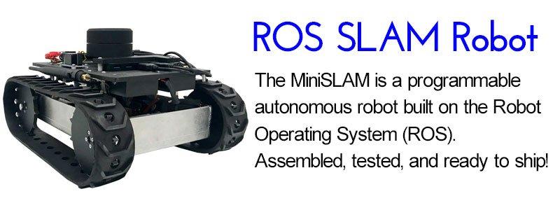 ROS SLAM SuperDroid Robots Autonomous Programmable Robot