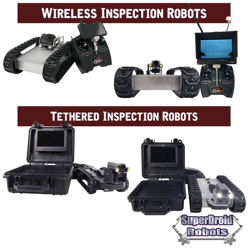 Inspection Robots with HD Cameras