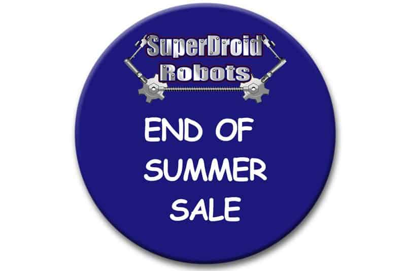 End of Summer Sale SuperDroid Robots