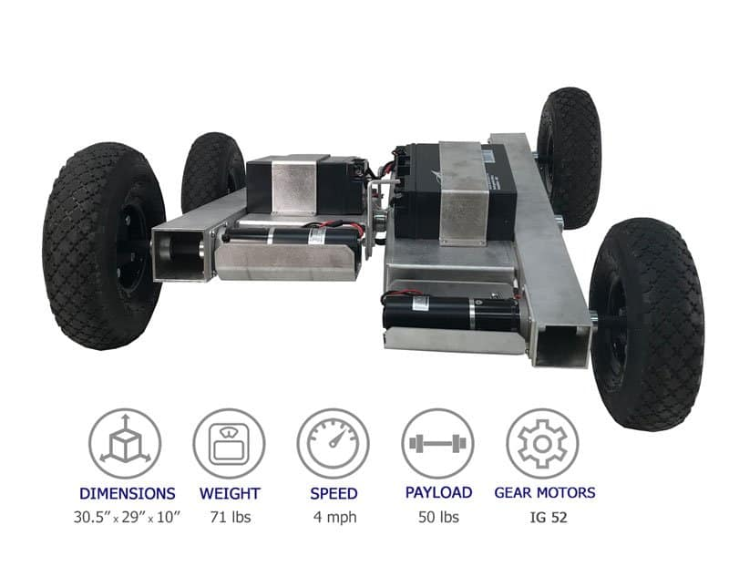 SuperDroid Robots Center Pivot Robot