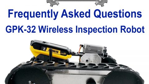 FAQ's: Wireless Inspection Robot GPK-32