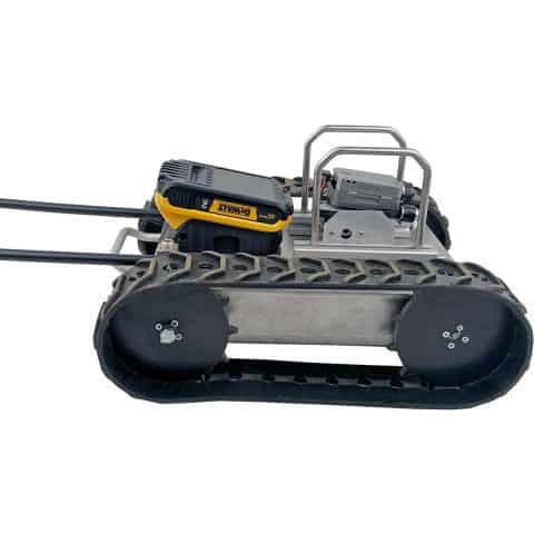 SuperDroid Robots unveils upgrades for wireless inspection robot.