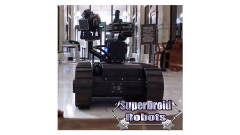 SuperDroid Robots Mastiff on MacGyver Finale!
