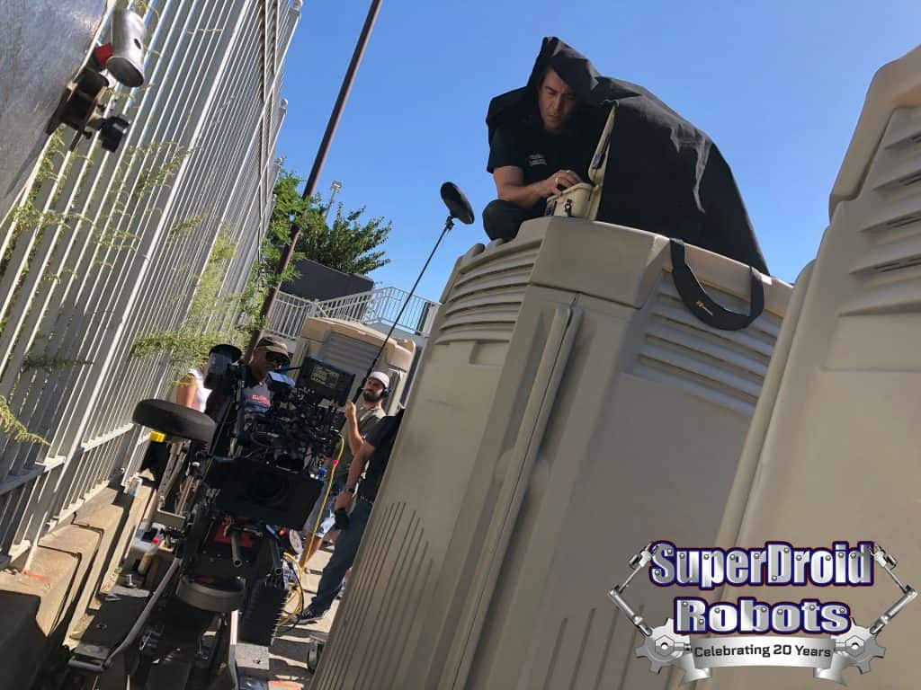 SuperDroid HD2 Mastiff Behind the Scenes Tommy Control