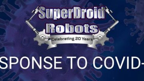 Response to COVID-19 – SuperDroid Robots