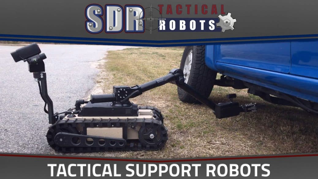 SuperDroid Tactical Support Robots