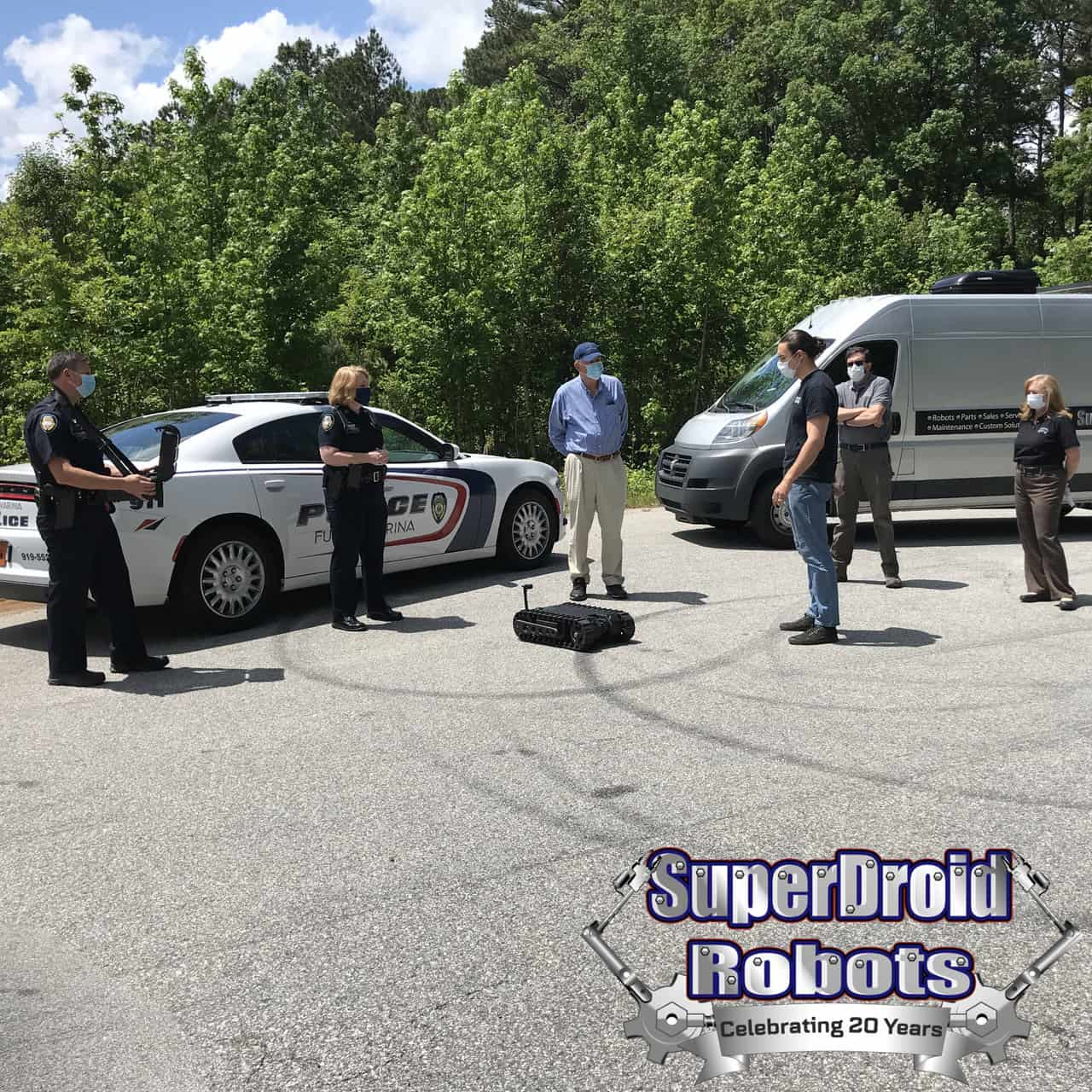 SuperDroid Robots Donates Tactical Robot to Local Police Department